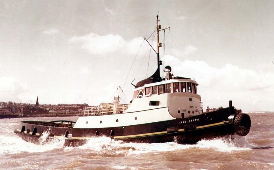 Tyne tug Hazelgarth Mister Cornishman Shaula Tommy Dev 1959